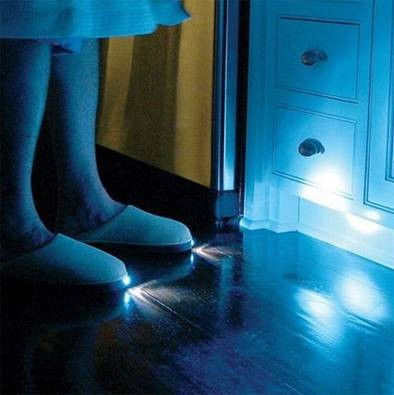 Funny Gift Ideas: Slippers with light