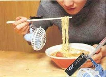 Funny Gift Ideas: Spaghetti-cooling fork/sticks