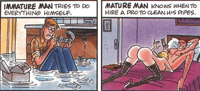 Mature vs Immature pt. 2