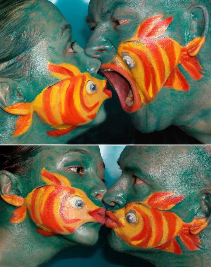 Crazy Makeup Effect