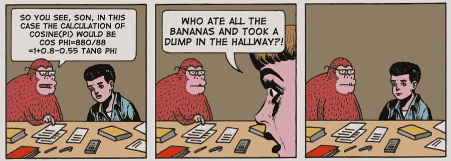 The genius monkey
