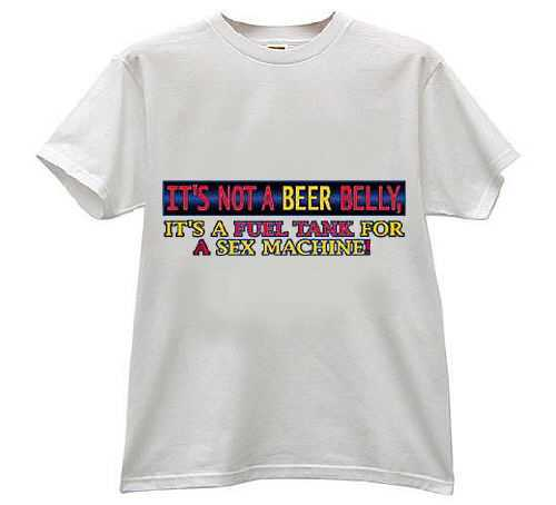Awesome T-Shirts: Beer Belly