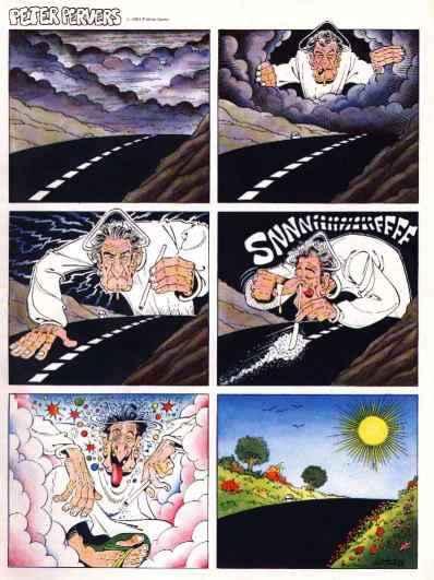 Creator's bizarre attitude