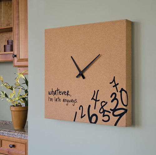 Clock for always late