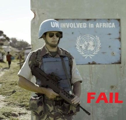 Failures: (un)involvement in African issues
