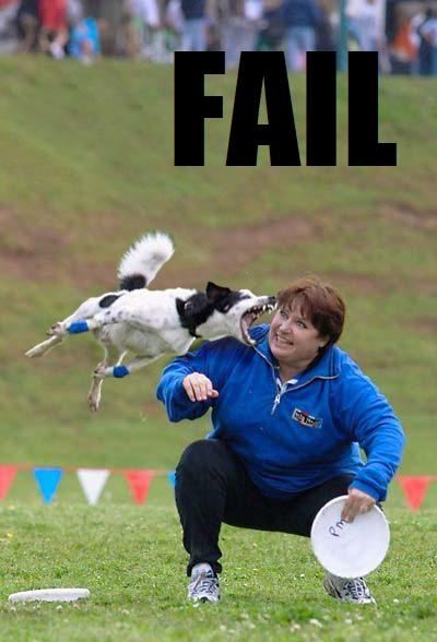 Failures: Dog training