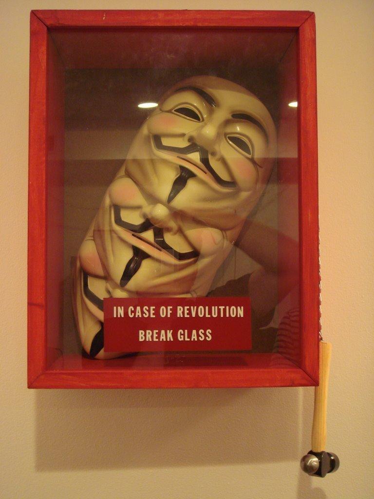 V for Vendetta: Just in case