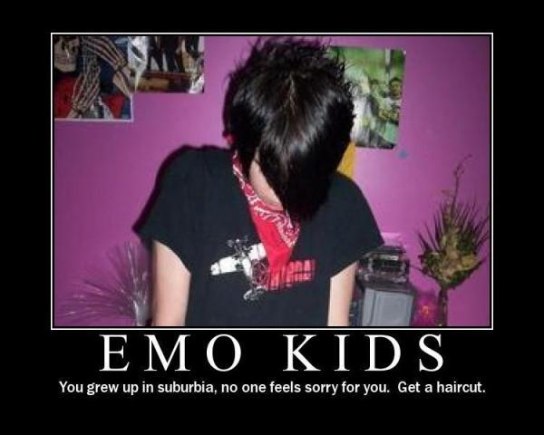 Crazy Motivationals: EMO Kids