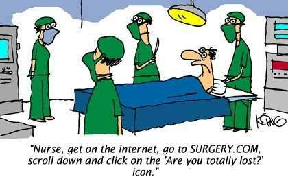 Surgery and the internet