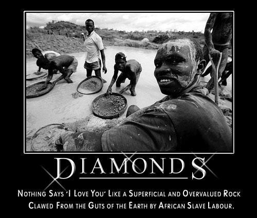 Crazy Motivationals: diamonds