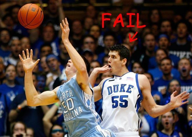 Failures: Macho sports