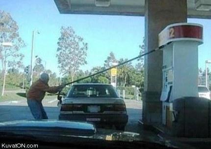 Crazy Fuel Stop