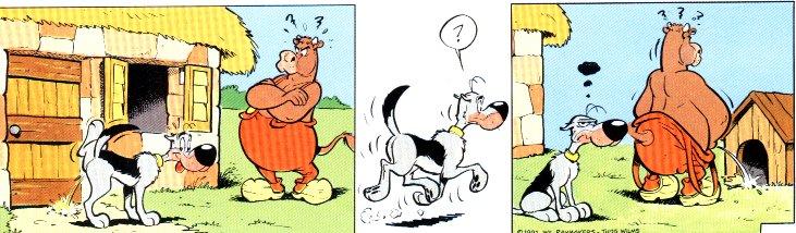 Revenge against dogs