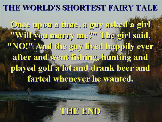 The World's Shortest Fairy Tale