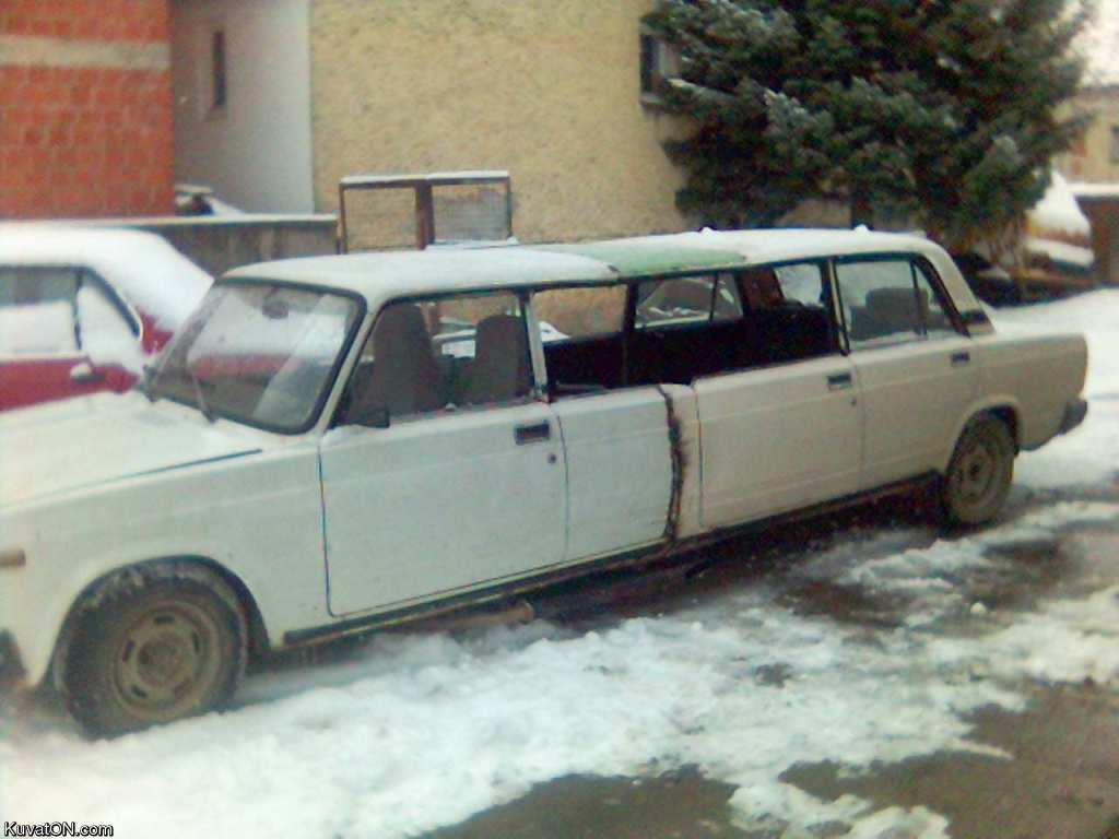 How to transport a Limousine