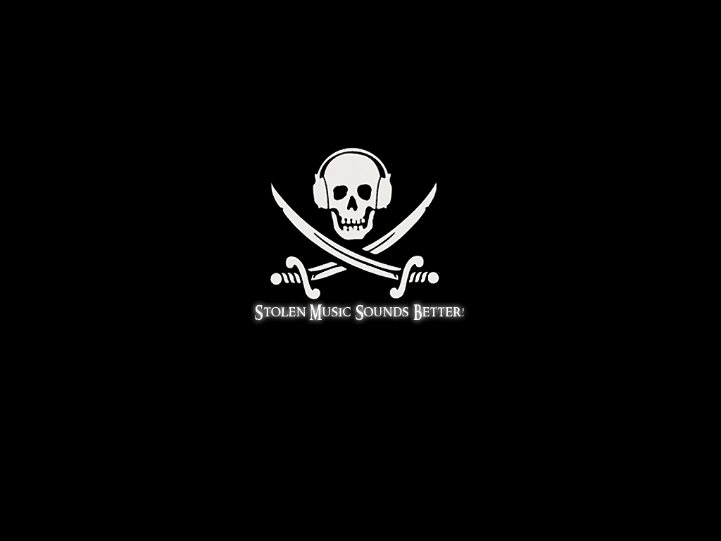 Pirated Music Flag