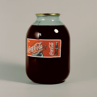 Tinyest Coke Bottle