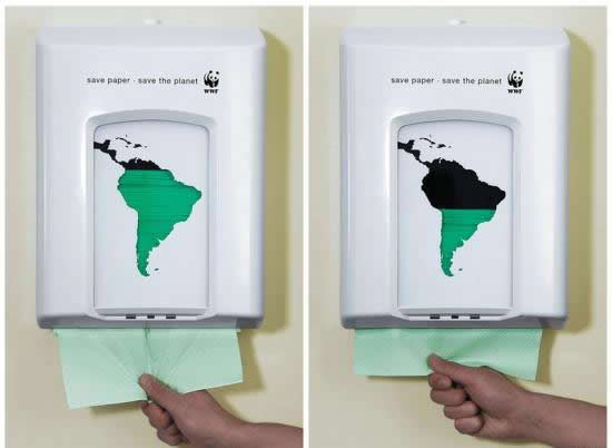 Save paper - save the planet