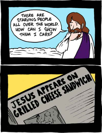 Salvation tales: starving