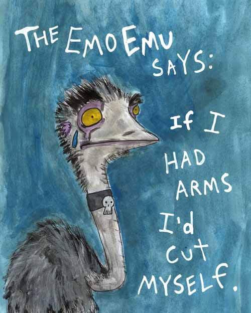 The Emo Emu