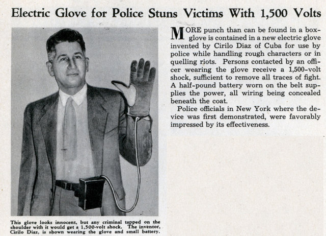 Stop Fights with Electric Glove