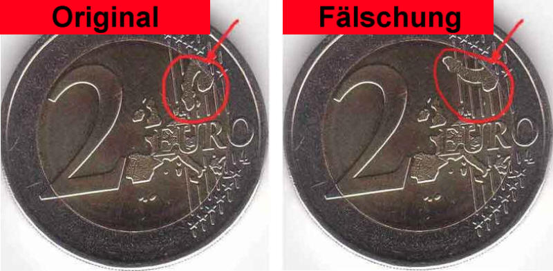 False Coins - spot the difference