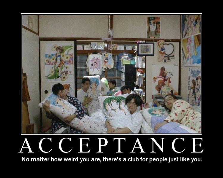Crazy Motivationals: Acceptance