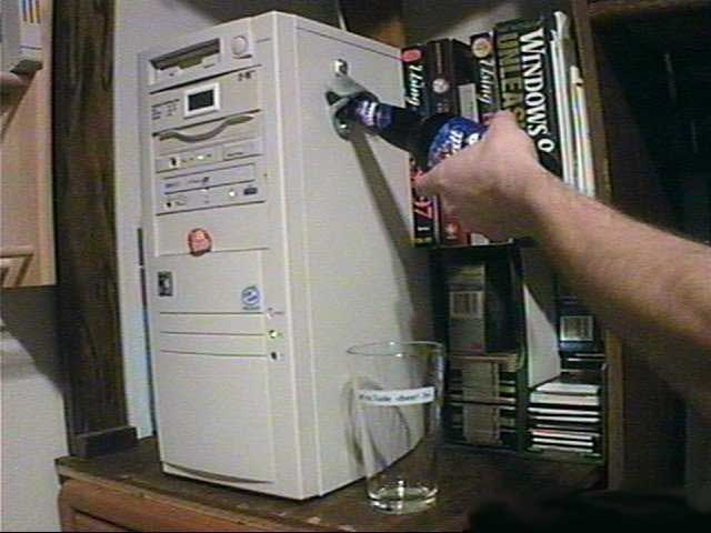 PC with Bottle Opener