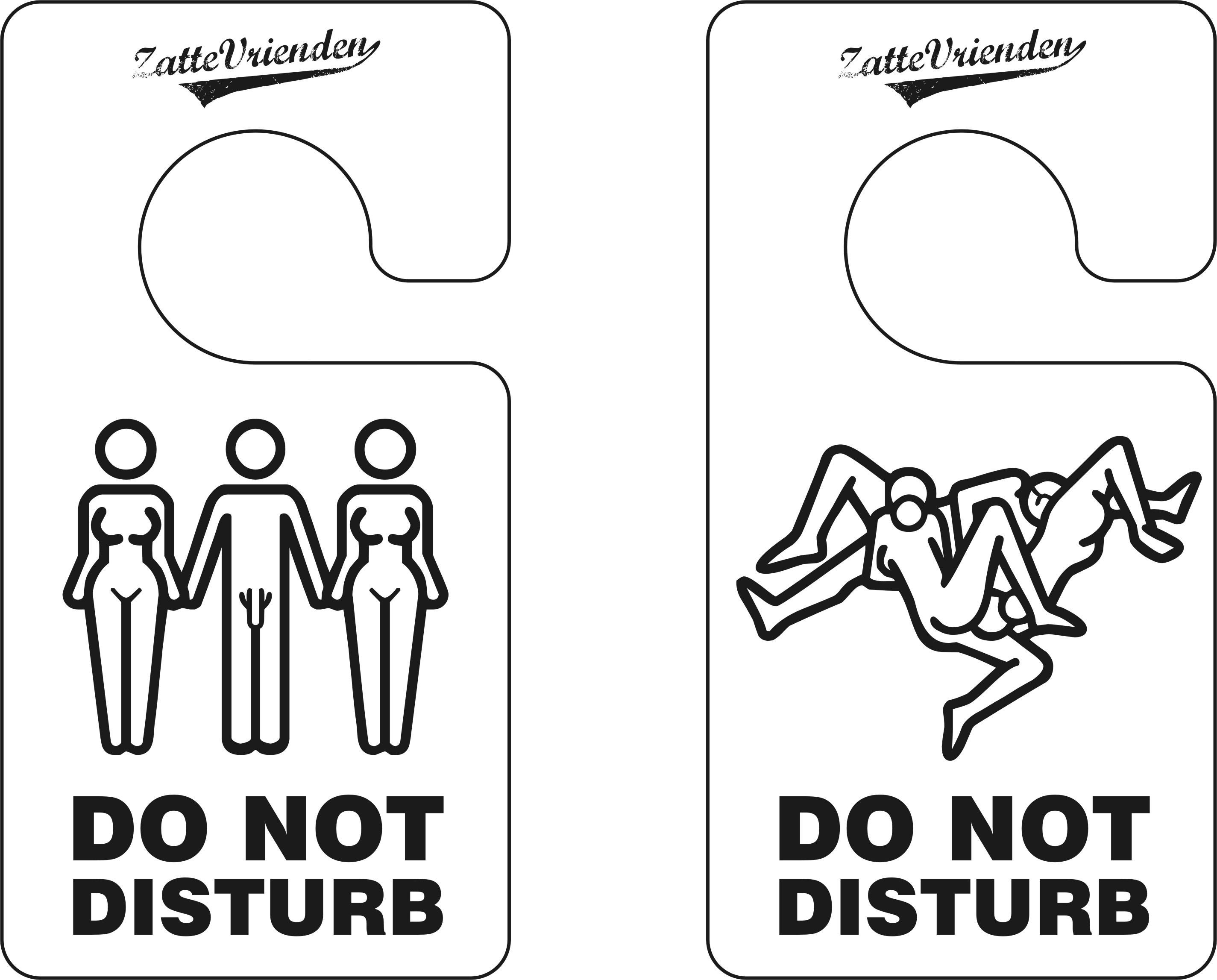Funny signs: Do not disturb
