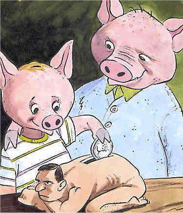 Pigs savings bank