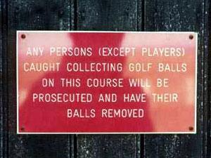 Balls removal