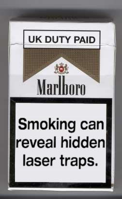 Crazy smoke labels