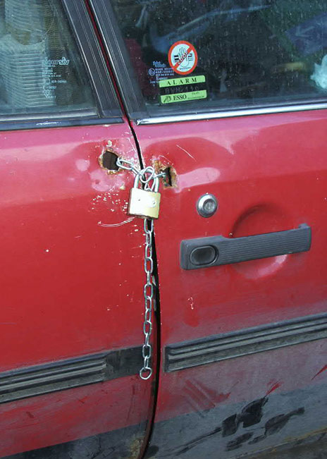 Anti-Theft device for cars