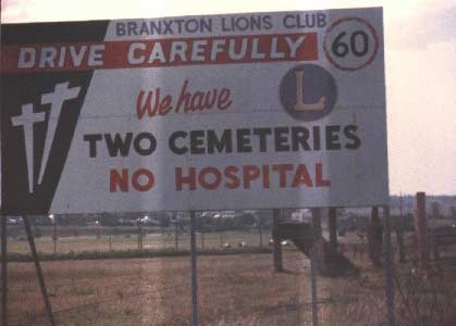 Crazy Signs: Drive Carefully