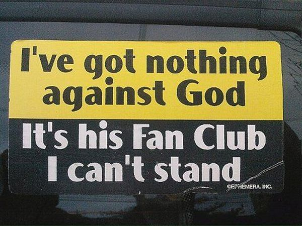 Funny Signs: I got nothing against got