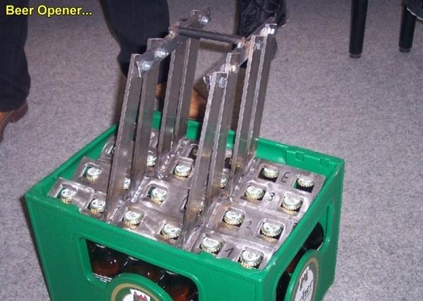 Crazy inventions: Beer Opener