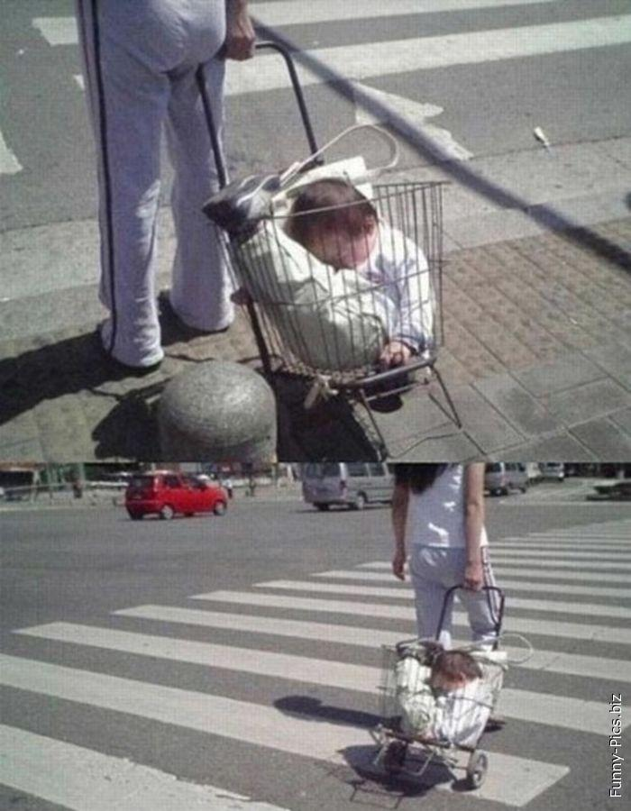 baby transportation fail