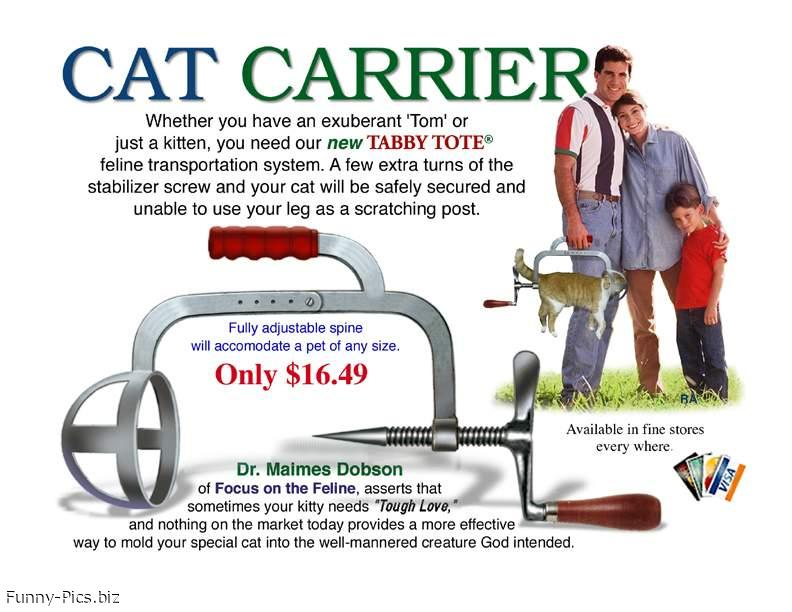 Crazy Inventions: Cat Carrier