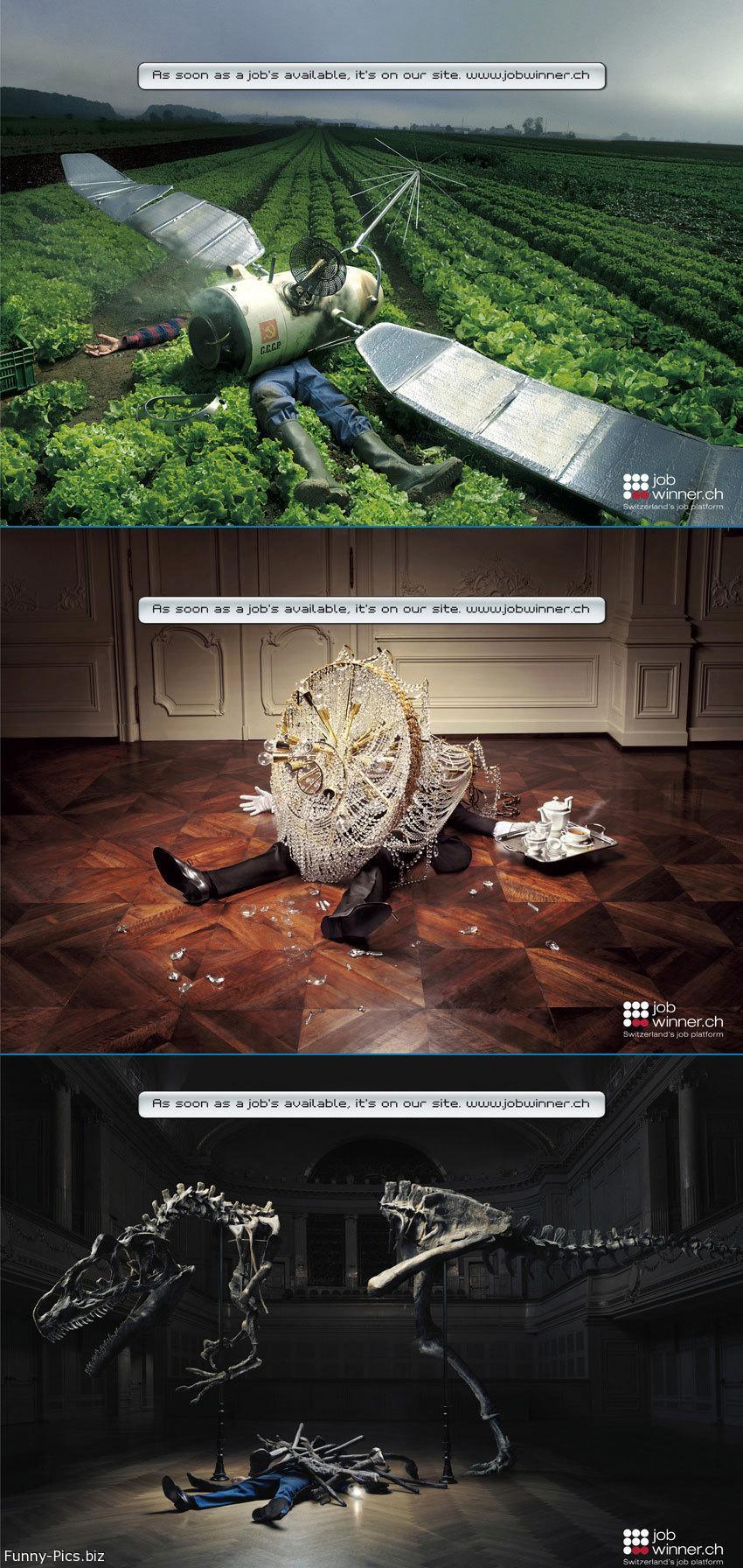 Crazy Ads: Jobswinner
