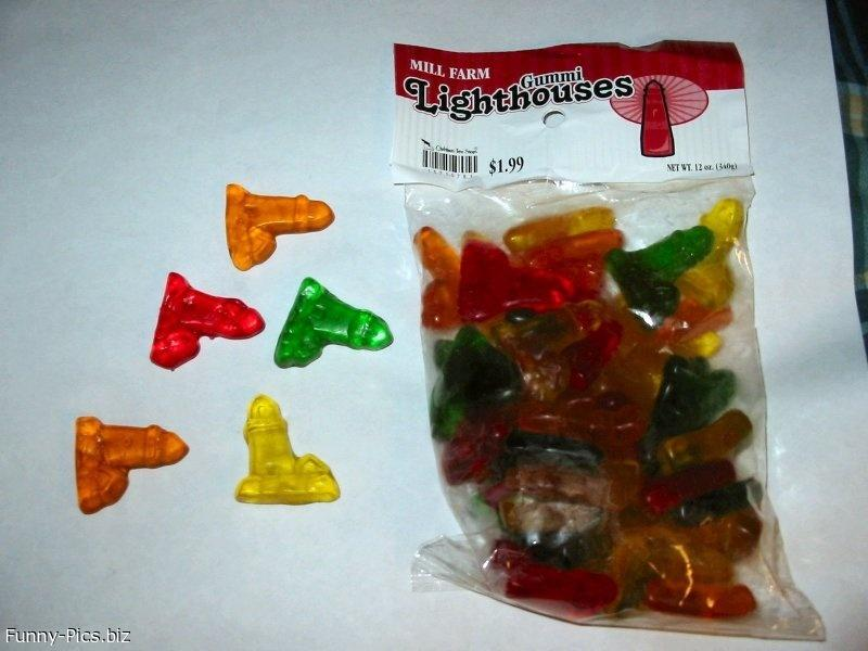 Crazy Candies: Lighthouses