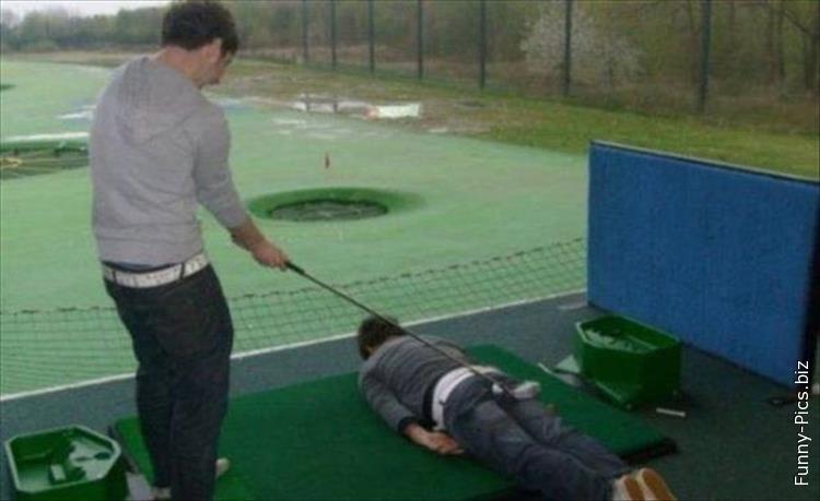 Crazy Golf techniques