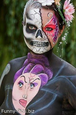 Crazy Makeups: Death