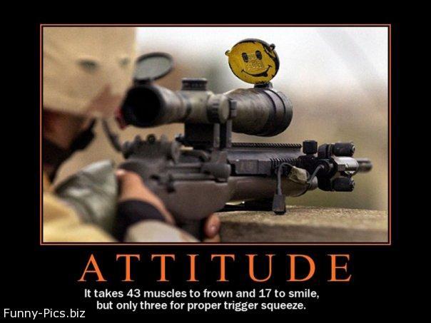 Crazy Motivationals: ATTITUDE