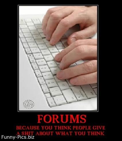 Crazy Motivationals: Forums