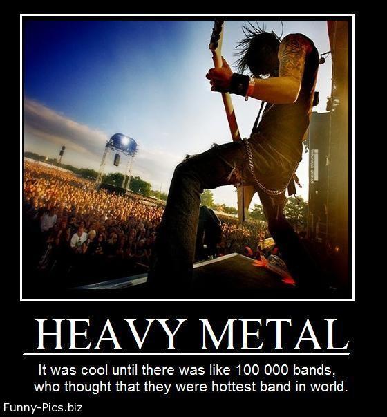 Crazy Motivationals: Heavy Metal