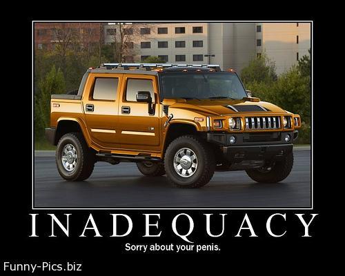 Crazy Motivationals: Inadequacy