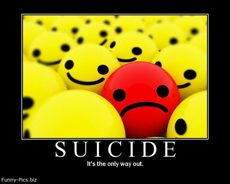 Crazy Motivationals: Suicide