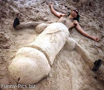 Crazy Sand Sculptures