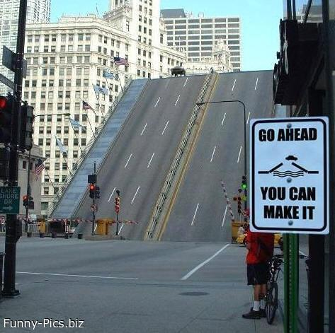 Crazy Signs: You can Make it