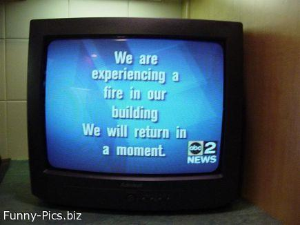 Crazy TV messages